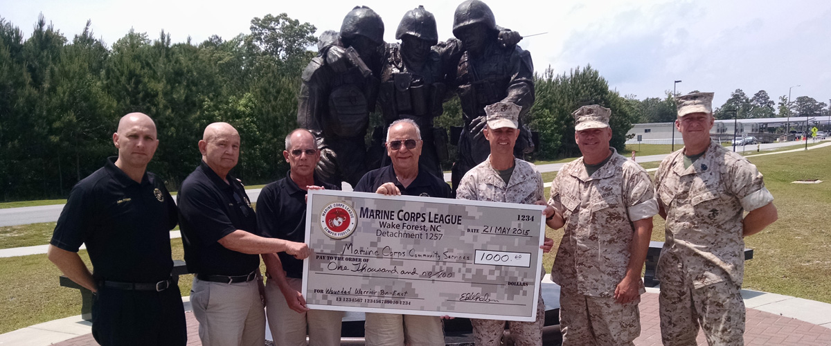 Wounded Warrior Battalion Donation