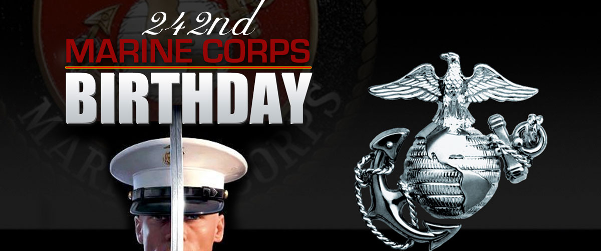 Happy 242nd Birthday Marines!